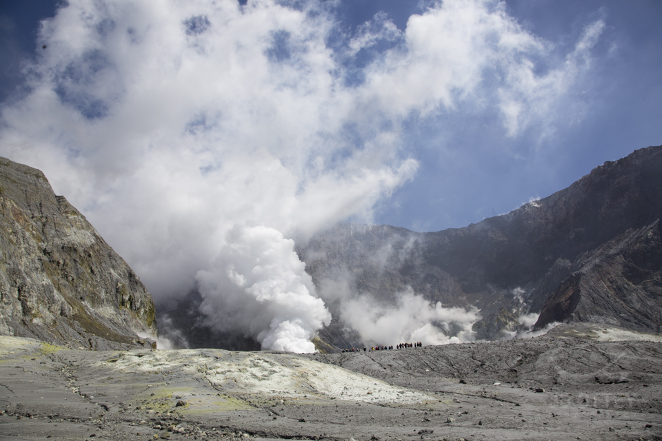 Visiting A Live Volcano